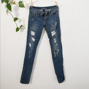 Victoria's Secret Skinny Distressed Jeans